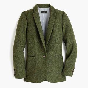 New JCREW Petite Parke Blazer English Wool Tweed